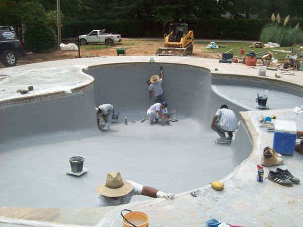 Canton Pool Resurfacing Swimming Pool Plastering